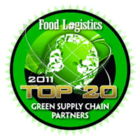 Food Logistics - 2011 - Top 20 - Green Supply Chain Partners