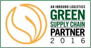 G75: Inbound Logistics' 75 Green Supply Chain Partner - 2016