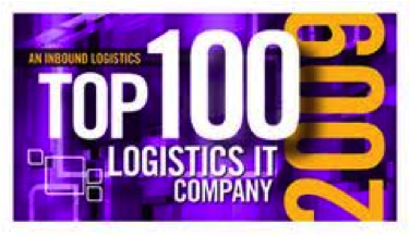 Inbound Logistics - 2009 - Top 100 Logistics IT Company
